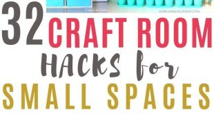 30+ Clever Ways to Organize Your Craft Supplies