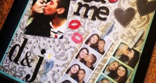 I decided I wanted to make a shadow box of me and my boyfriend and this is the e...