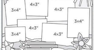 Beginner 12X12 Scrapbook Layout Sketches | ... 12x12 sketches get single photo s...
