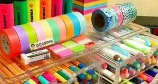 DIY Craftroom Organization - Unexpected & Creative Ways to Organize Your Craft Room