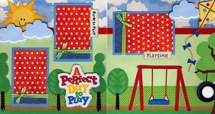 Details about DISNEY MAGIC CRUISE 2 premade scrapbook pages paper piecing layout CHERRY #0003