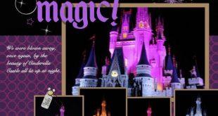 Disney {pinned by www.thedisneykids... #DisneyScrapbooking #DisneyScrapbook