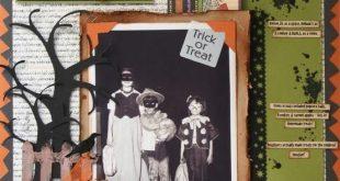 Halloween Scrapbook Ideas