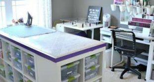 New craft room organization ikea hacks ideas