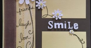 Smile - 12 x 12 Premade Scrapbook Pages