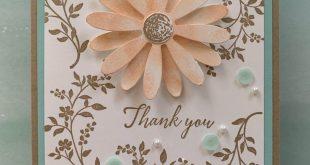 Daisy Delight Thank You Card - #Card #Daisy #Delight #holding
