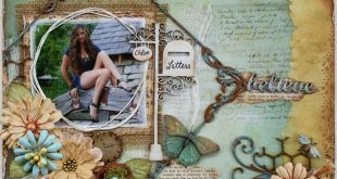 Such a Pretty Mess: Another Layout in Australian Scrapbook Idea's Magazine! ...