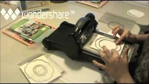 card making video .... how to make layered frame that looks like a shadow box .....