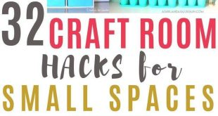 30 Clever Ways to Organize Your Craft Supplies 2019 30 Clever Ways to Organize Y...