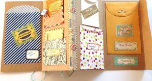 Accordian Letter Project - eine gute Idee für ein Reise-Sammelalbum. Ich liebe es!! Mein Freu...