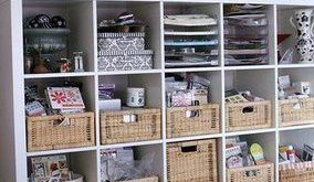 I could store my punches in baskets (instead of the drawers they're now in),...