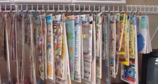 Scrapbook Organization And Storage | Another view of my Clip It Up - Scrapbook.c...