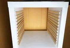 12x12 Paper Storage - DIY Vertical Organizer for Scrapbook Paper