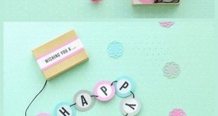 14 DIY Geburtstagsfeier Ideen