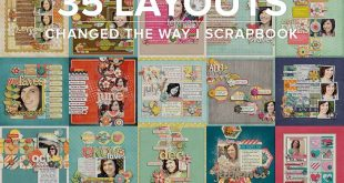 24 Great Picture of Scrapbook Page Ideas Layout
