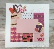 37+ Awesome Image of Love Scrapbook Pages