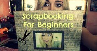 Beginner Scrapbooking Layout Tutorial - You Can't Top This! - YouTube