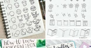 Bullet Journal Doodles: 24 Amazing Doodle Ideas For Beginners & Beyond
