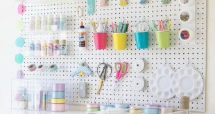 Craft Organization DIY - 40 Art Room And Craft Room Organization Decor Ideas... ...