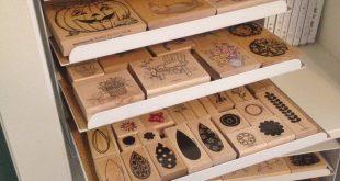 CraftScratchFever's Gallery: Wood Stamp Storage