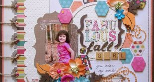 Fabulous+Fall+Girl+(scrap-utopia) - Scrapbook.com