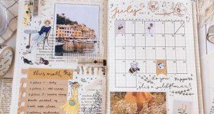 IG Viki Coldbujo Ich mag den Monatskalender mit der Kunstseite. Es übertrifft d