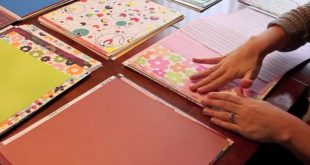 If you've been scrapbooking for a while and have a large paper stash, learn ho...