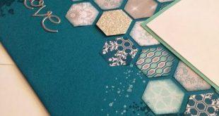 Sneak Peek - Hexagon Scrapbook-Seite
