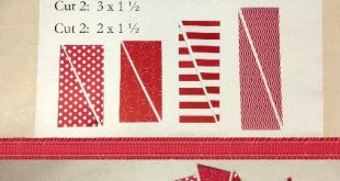 cardmaking photo tutorial from SHARING CREATIVITY and COMPANY: Starburst Patriot...