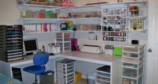 #papercraft #craftroom - scrapbook #organization ideas | Here it is - my new cra...
