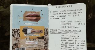 [silence x2] art journal + poetry by Noor Unnahar || words quotes poetic artsy a...