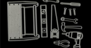 12pcs/Set Cool Man   In Tool Box Metal Cutting Dies Stencils For DIY Scrapbookin...