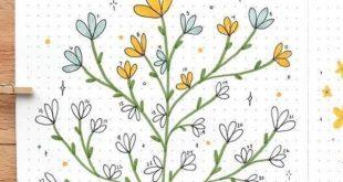 20 entzückende April-Stimmungs-Verfolger-Ideen für Ihr Bujo