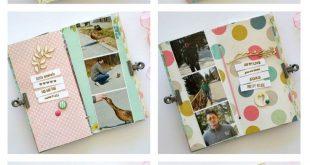 30 Inspired Photo of Polaroid Scrapbook Ideas Mini Albums  2019  30 Inspired Pho...