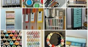 35 Crafty Craft Storage Solutions