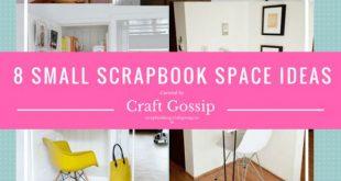 8 Ideas for Super Small Scrapbook Spaces