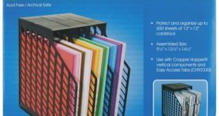 Advantus® Cropper Hopper® Easy Access Paper Holder, Black