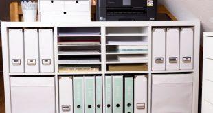 Aufbewahrung für Scrapbooking Papier und Washi Tape – IKEA Hack