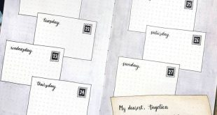 Best Bullet Journal Weekly Spread Ideas