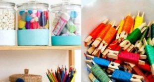 Best Sewing Storage Organizers Craft Supplies Ideas