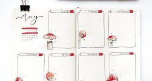 Bullet journal weekly spread by ig@jade_journals