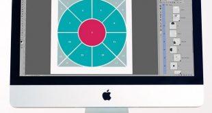 Compass 2 Digital Scrapbook Template