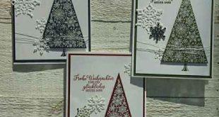 Flockengestöber 4: Den Weihnachtsbaum aus dem Wintermärchen… | StempelArt