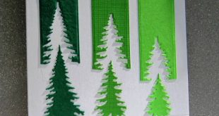 IO Evergreen Trees & Holiday Top Word Edgers Dies ... Clever take on challenge! ...
