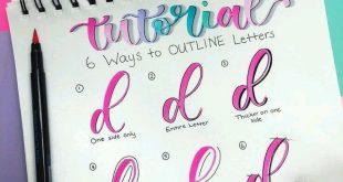 Lettering – xeelha