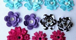 Scrapbook Diy Embellishments Diy Scrapbook Embellishments Flowers Pazzles Craft Room