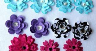 Scrapbook Diy Embellishments Diy Scrapbook Embellishments Flowers Pazzles Craft Room