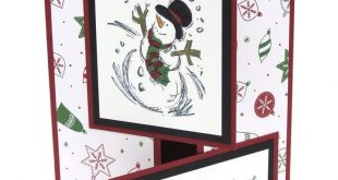Stampin Up Christmas Card Snowman Christmas Cards Combined Shipping
