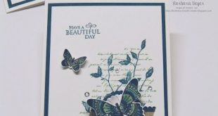 Stampin' Up! Very Versailles; Stampin' Blends