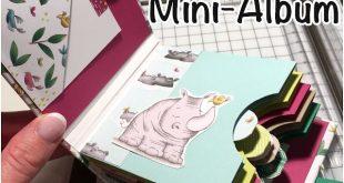 Stempellicht: Anleitung Minialbum mit Einschiebblätter